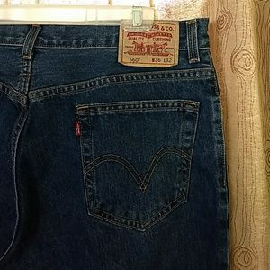 Mens 36 x 32 Levi's 560 Comfort Fit Jeans Like New